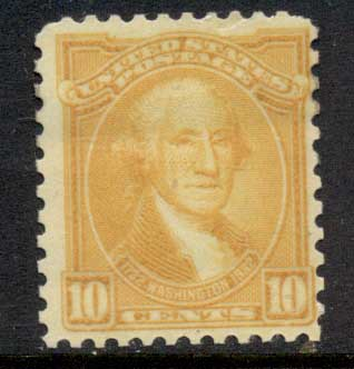 USA 1932 Sc#715 Washington Bicentennial 10c MLH