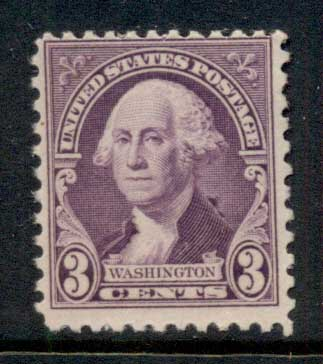 USA 1932 Sc#720 Washington 3c MLH