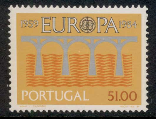 Portugal 1984 Europa Bridges MUH