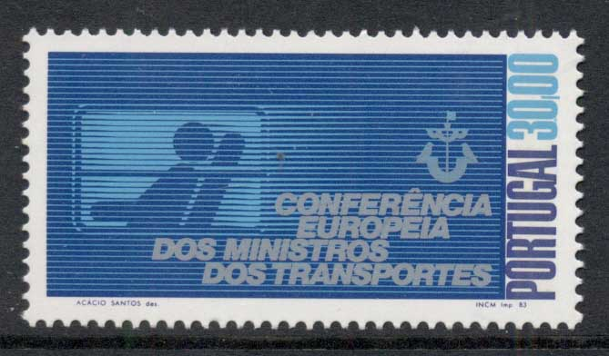 Portugal 1983 Transport Ministers Conference MUH