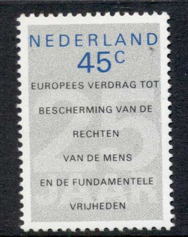 Netherlands 1978 Human Rights MUH
