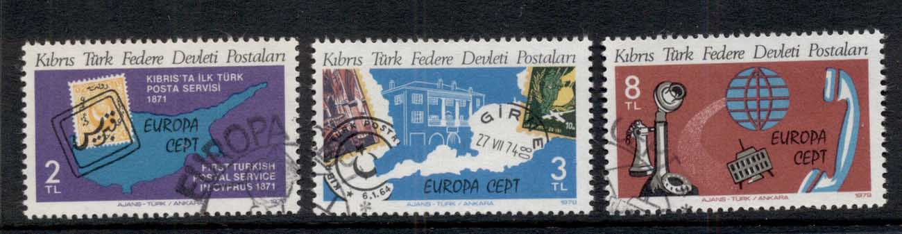 Cyprus Turkish 1979 Europa CTO