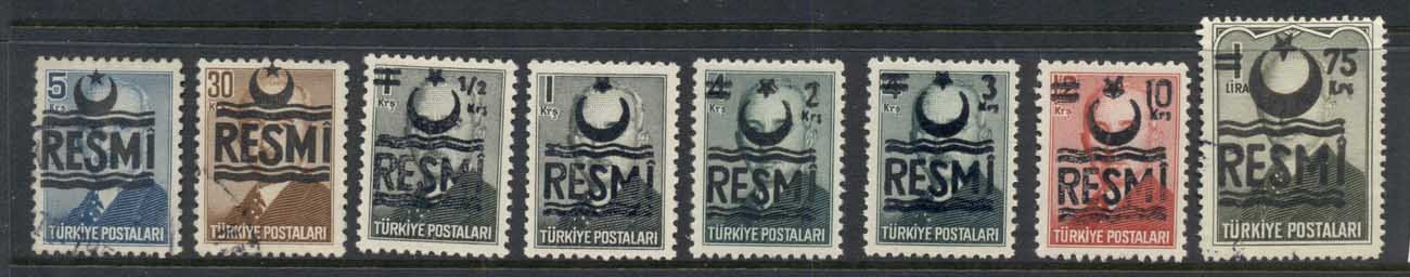 Turkey 1956-57 Officials FU/MLH