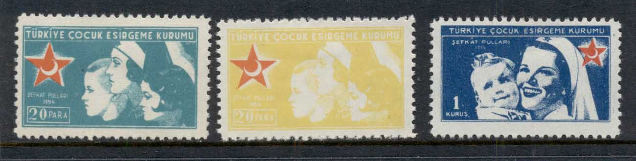 Turkey 1954 Postal Tax Red Crescent MLH