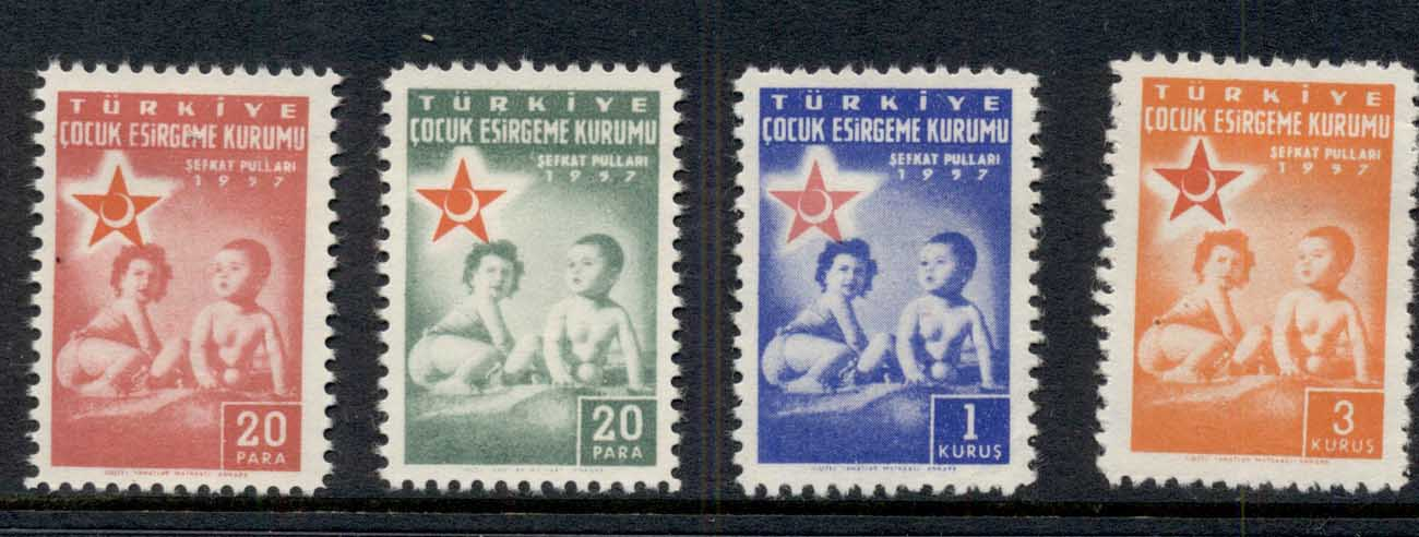 Turkey 1957 Postal Tax Red Crescent MLH