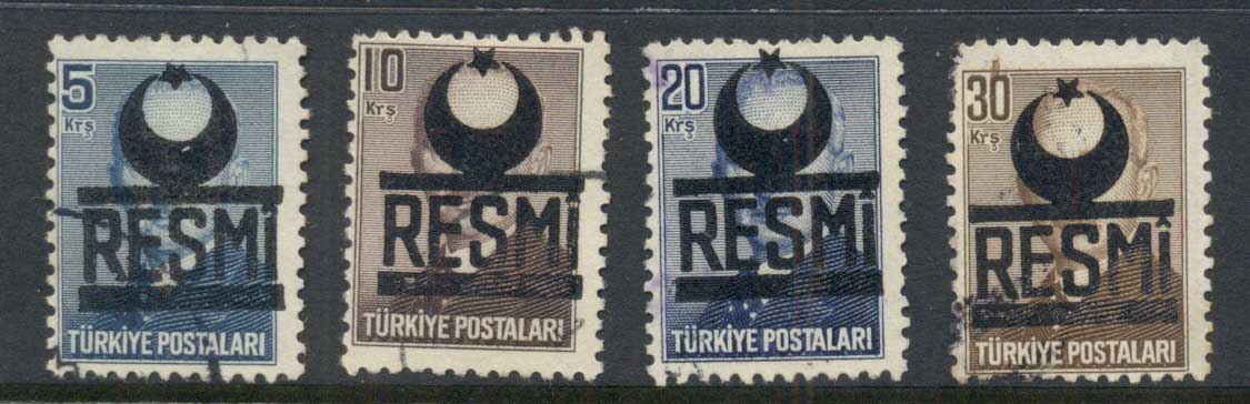 Turkey 1951 Officials FU