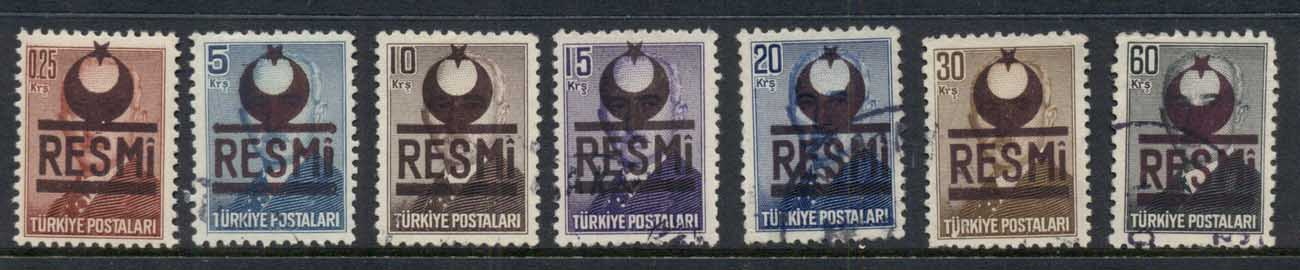 Turkey 1953 Officials FU