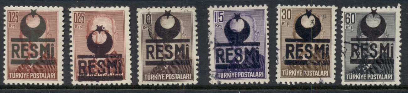 Turkey 1953-54 Officials FU/MLH