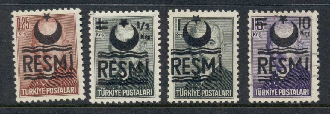 Turkey 1957 Officials MLH