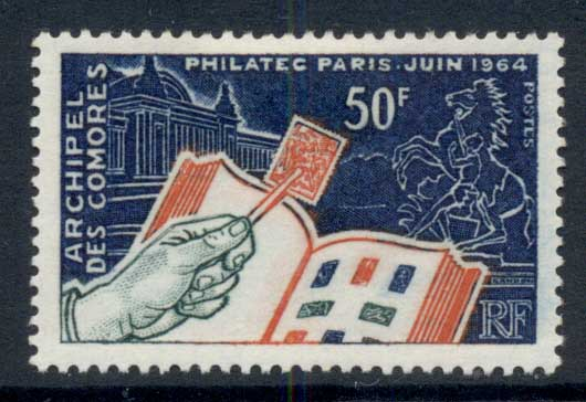 Comoro Is 1964 Philatelic Issue MLH