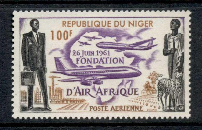 Niger 1962 Air Afrique MLH