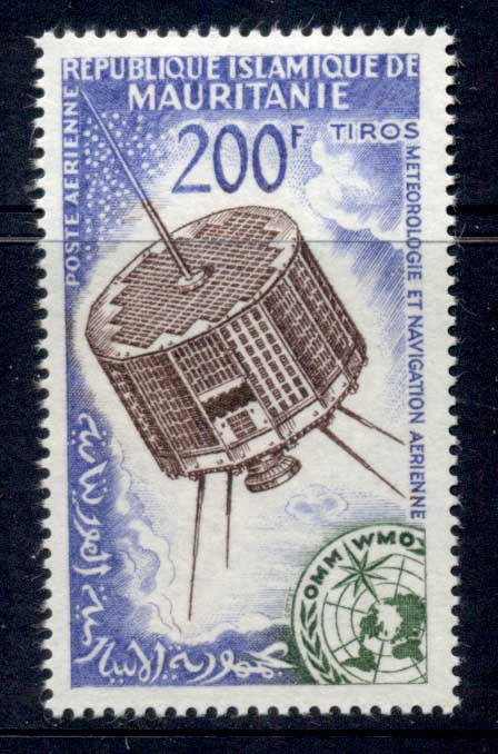 Mauritania 1963 Space Research satellites MLH