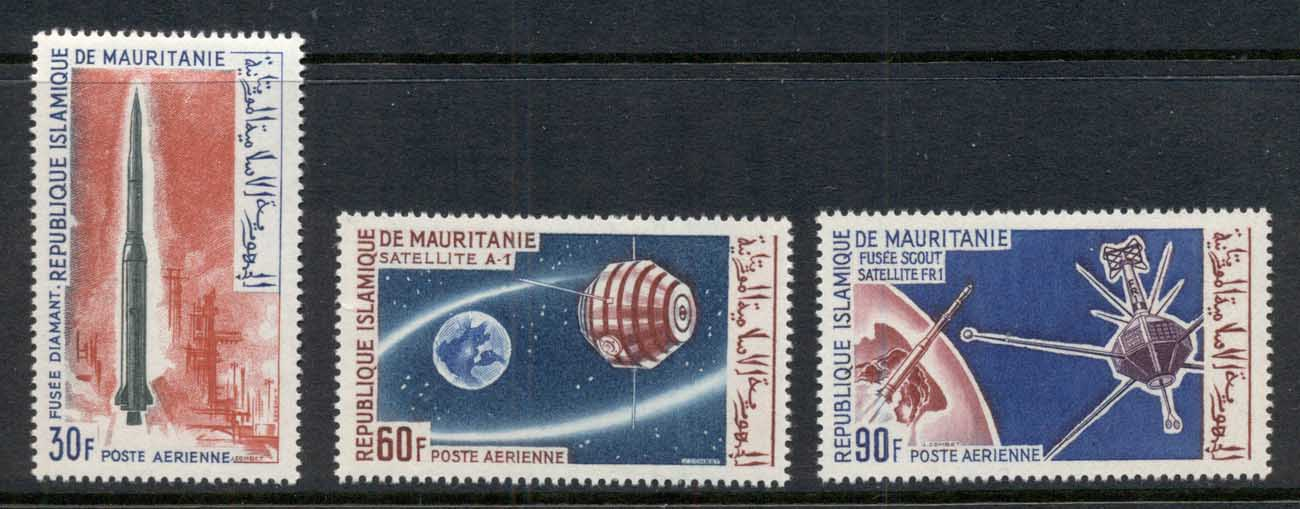 Mauritania 1966 French Space Achievements MLH