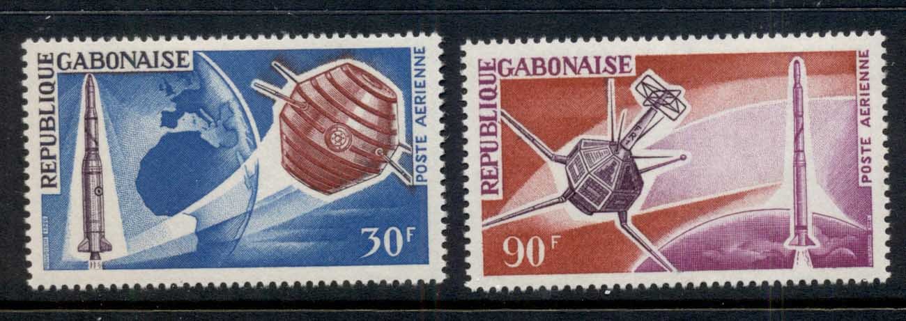 Gabon 1966 French Achievements in Space MLH