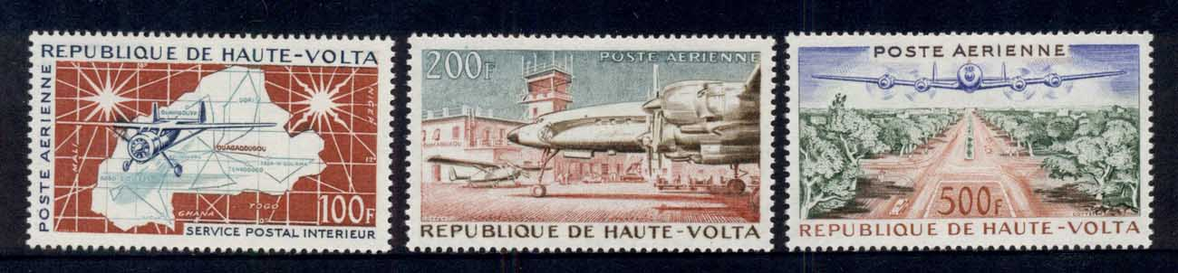 Upper Volta 1961 Air Mail Planes MLH