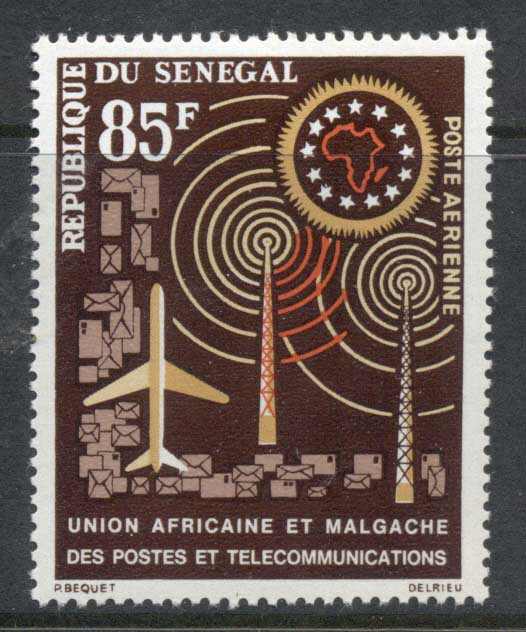 Senegal 1962 African Postal Union MLH
