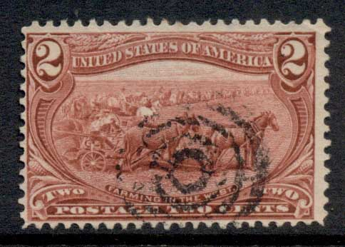 USA 1898 Sc#286 2c Trans-Mississippi Exposition FU