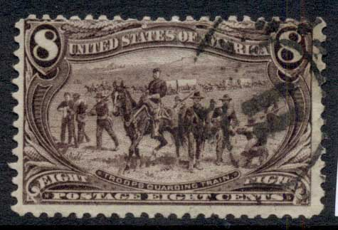 USA 1898 Sc#289 8c Trans-Mississippi Exposition FU