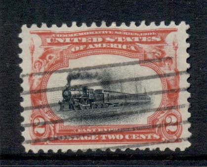 USA 1901 Sc#295 2c Pan-American Exposition FU
