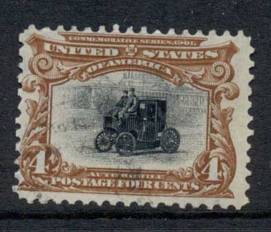 USA 1901 Sc#296 4c Pan-American Exposition FU