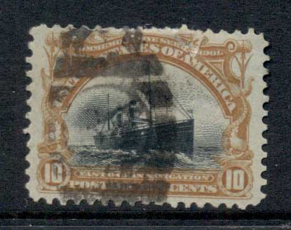 USA 1901 Sc#299 10c Pan-American Exposition FU