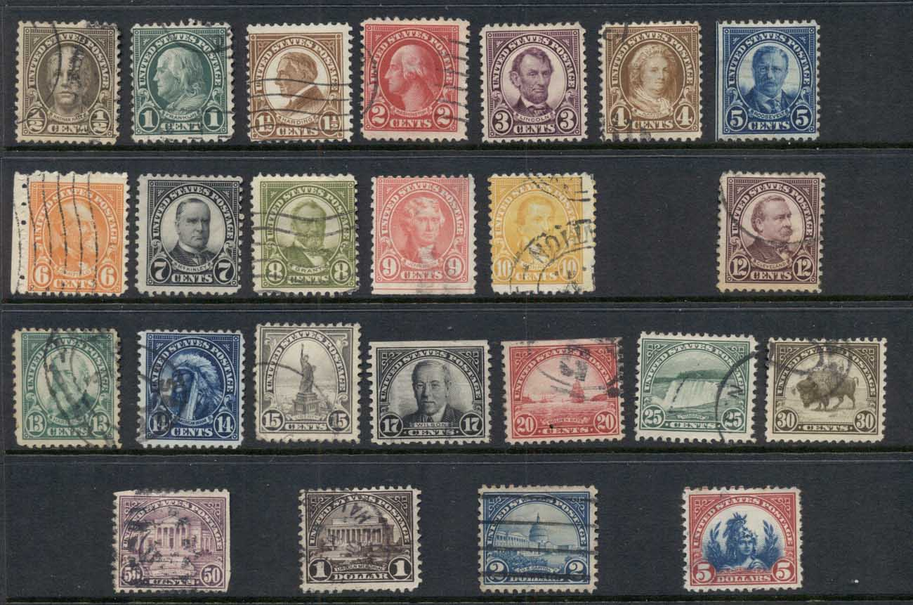 USA 1922-25 Sc#551 on Third Bureaus Flat Plate Perf 11, (no 11c) FU