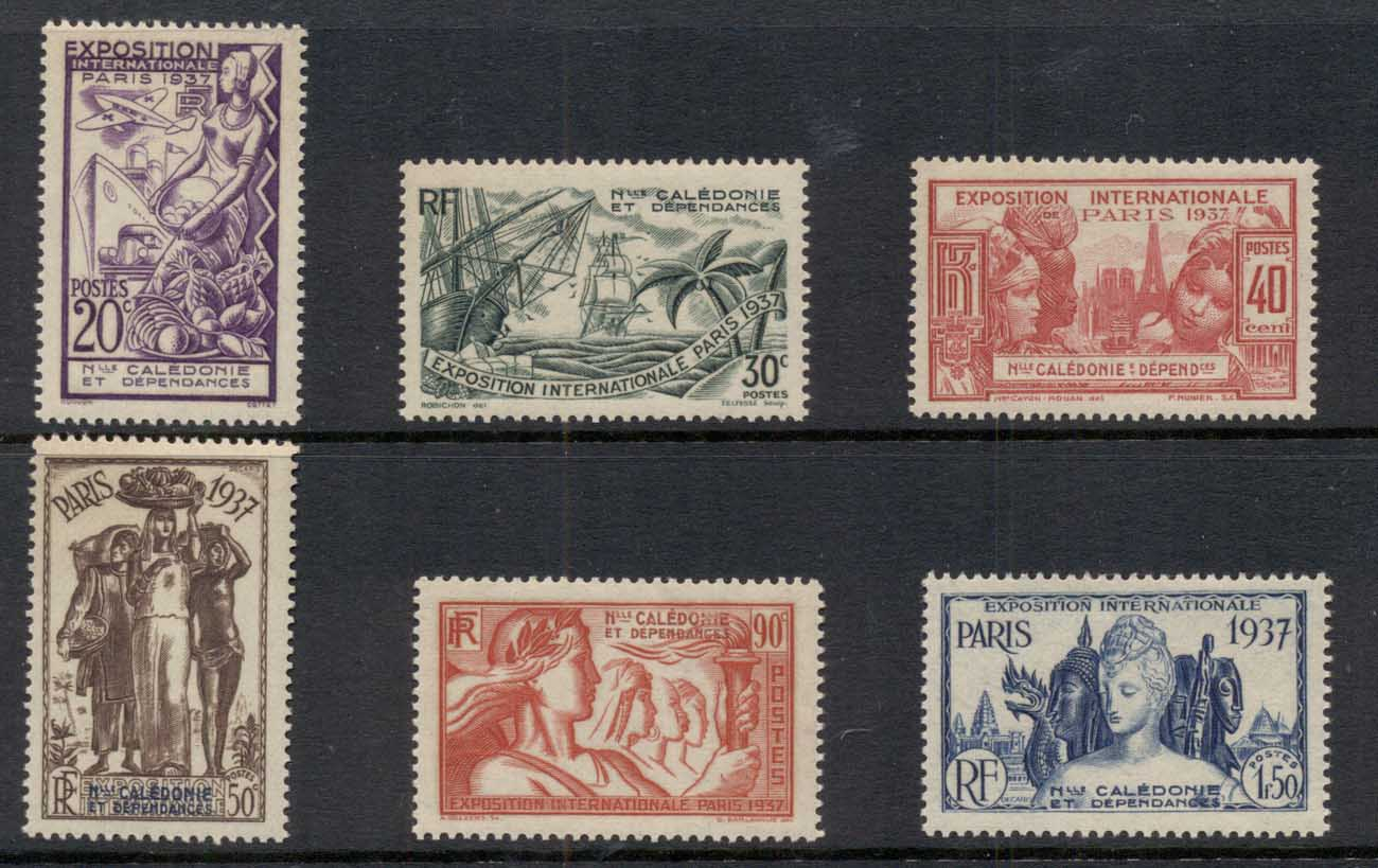 New Caledonia 1937 Paris International Exposition MUH
