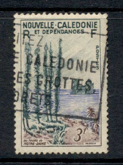 New Caledonia 1955 Towers of Notre Dame 3f FU