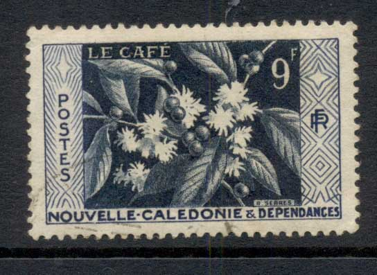 New Caledonia 1955 Coffee 9f FU