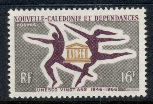 New Caledonia 1966 UNESCO MUH
