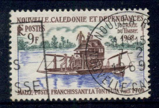 New Caledonia 1968 Stamp Day FU