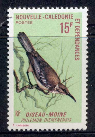 New Caledonia 1970 Birds 15f MLH - Click Image to Close
