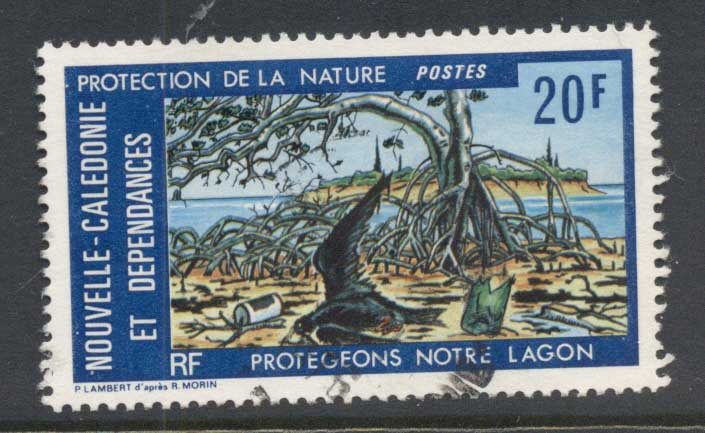 New Caledonia 1976 Nature Protection FU