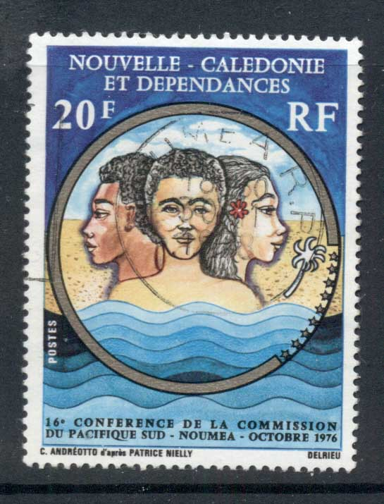 New Caledonia 1976 South Pacific Commission FU