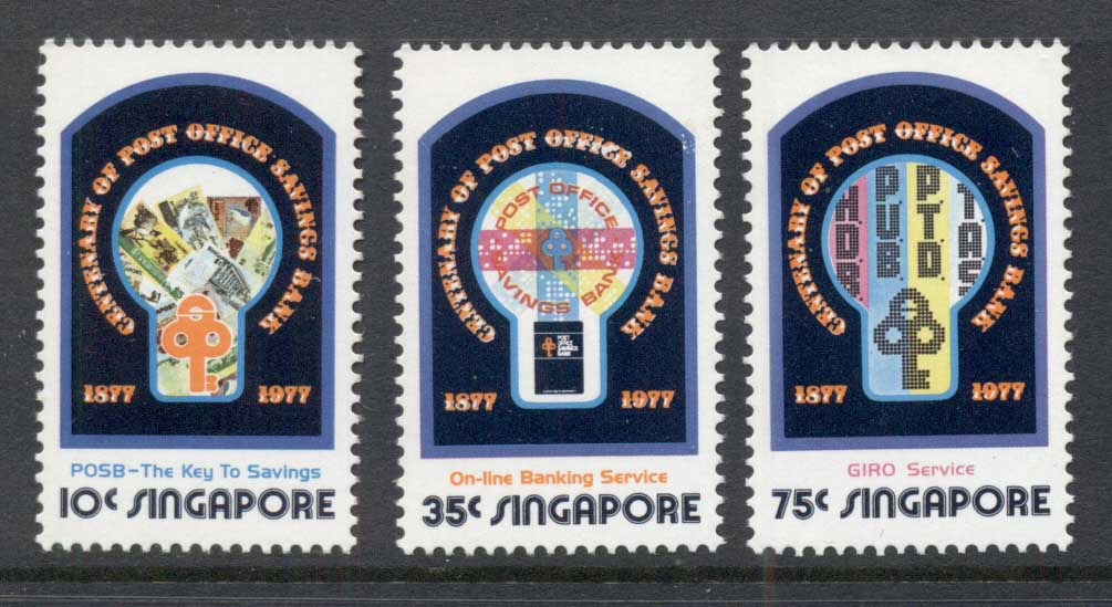 Singapore 1977 Post Office Savings Bank MLH