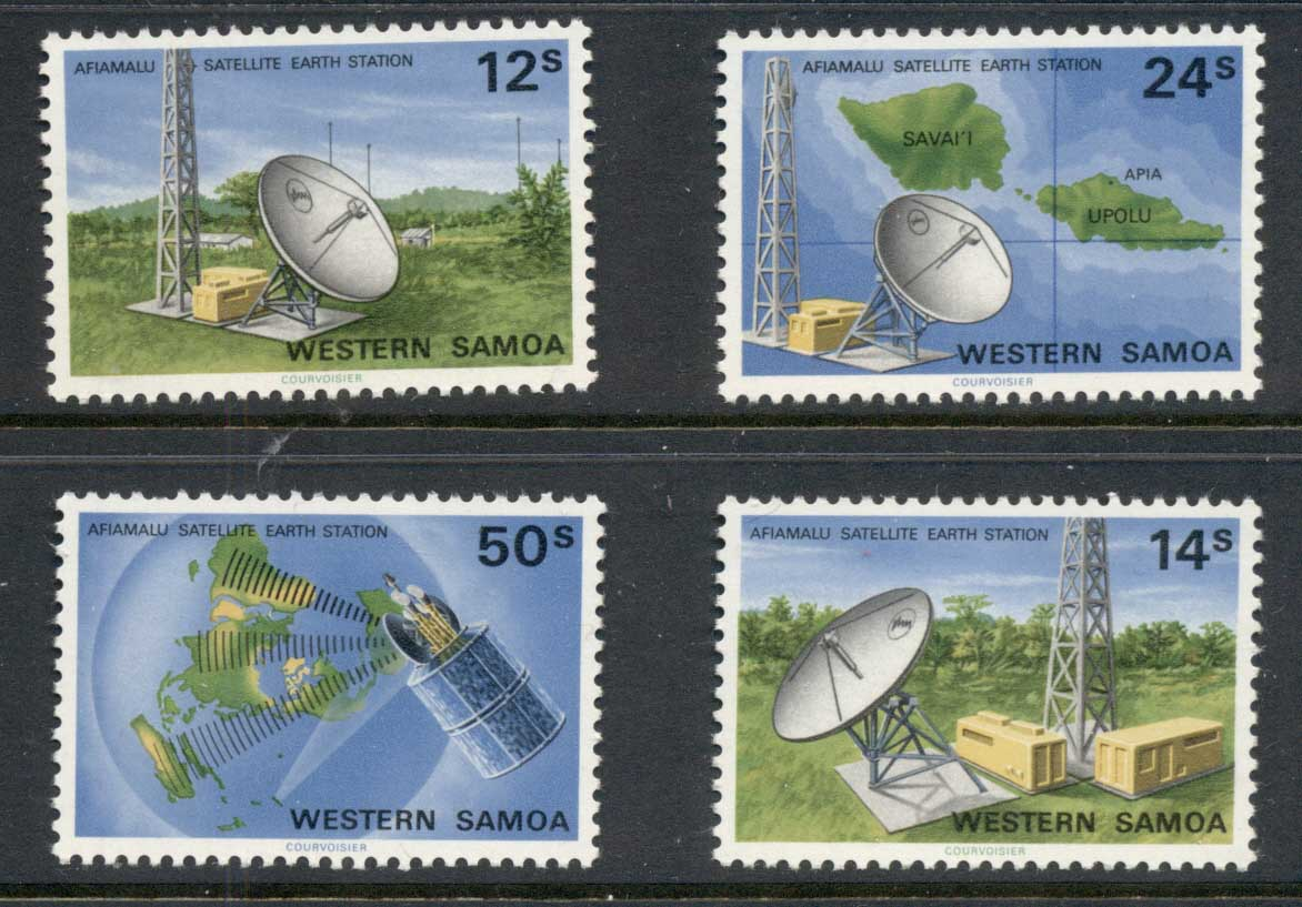 Samoa 1980 Satellite Earth Station MUH