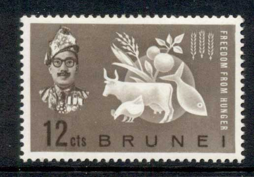 Brunei 1963 FFH Freedom from Hunger MLH