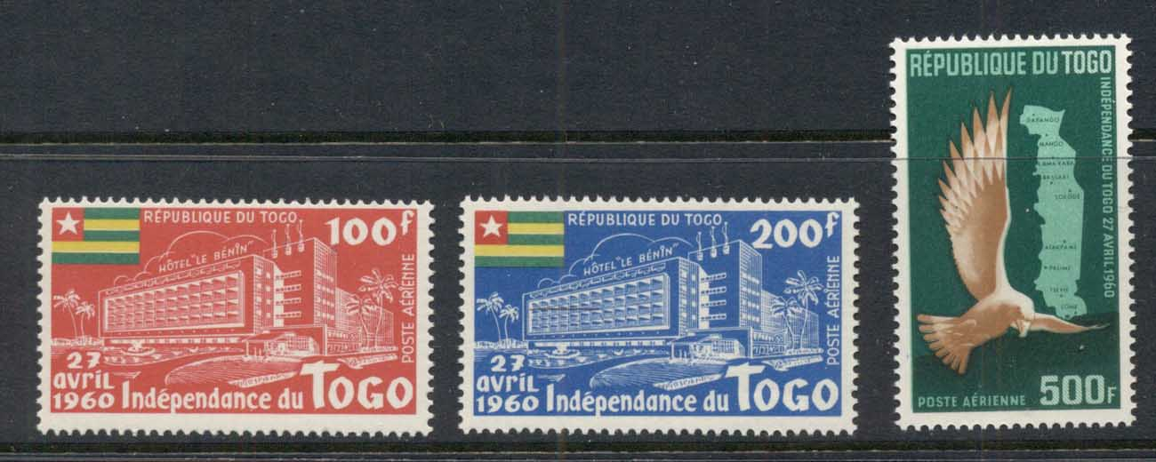 Togo 1960 Independence Airmails MUH