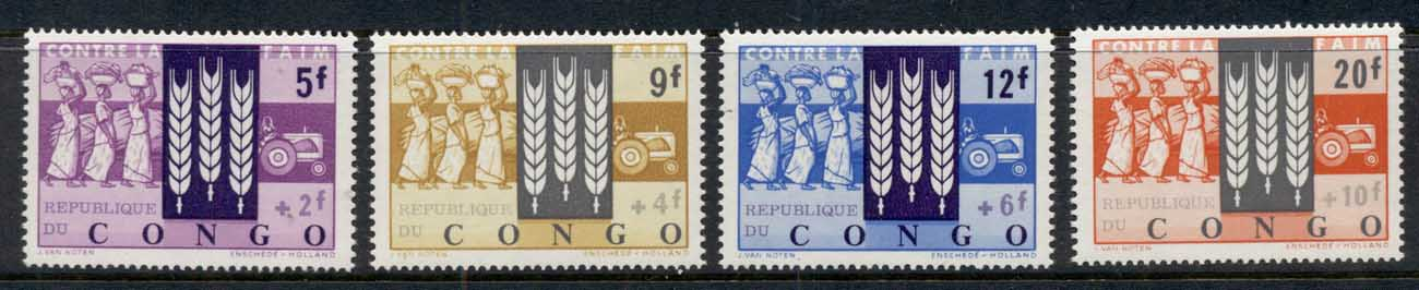 Congo DR 1963 FFH FAO Freedom From Hunger MUH
