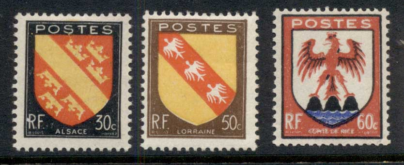 France 1946 Arms (3/4) MLH