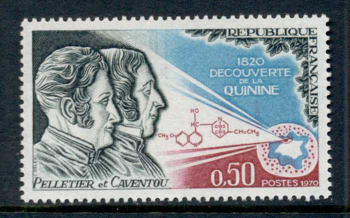 France 1970 Discovery of Quinine MUH