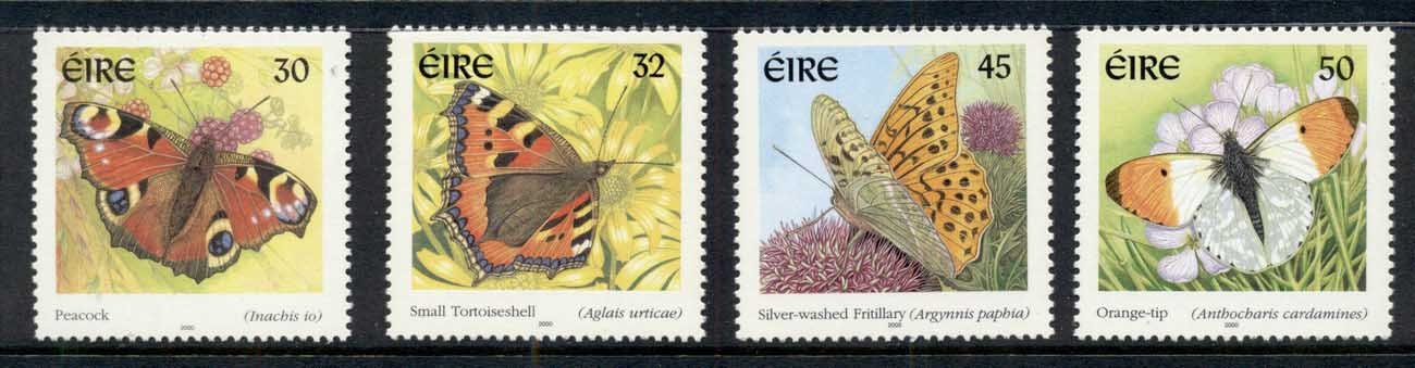 Ireland 2000 Insects, Butterflies MUH