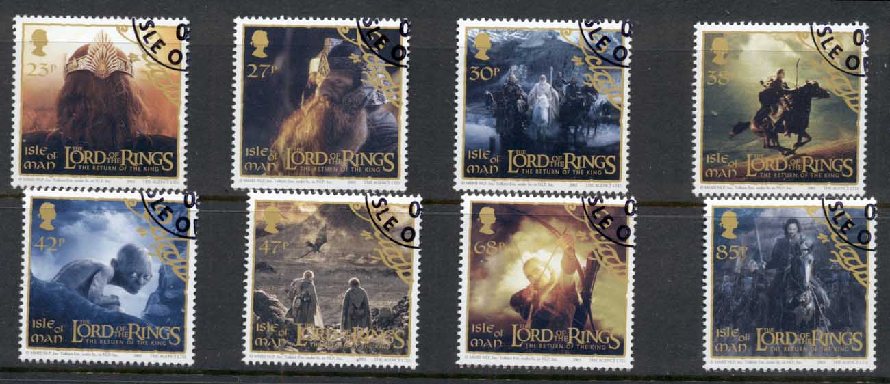 Isle of Man 2003 Lord of the Rings, LOTR , Return of the King CTO
