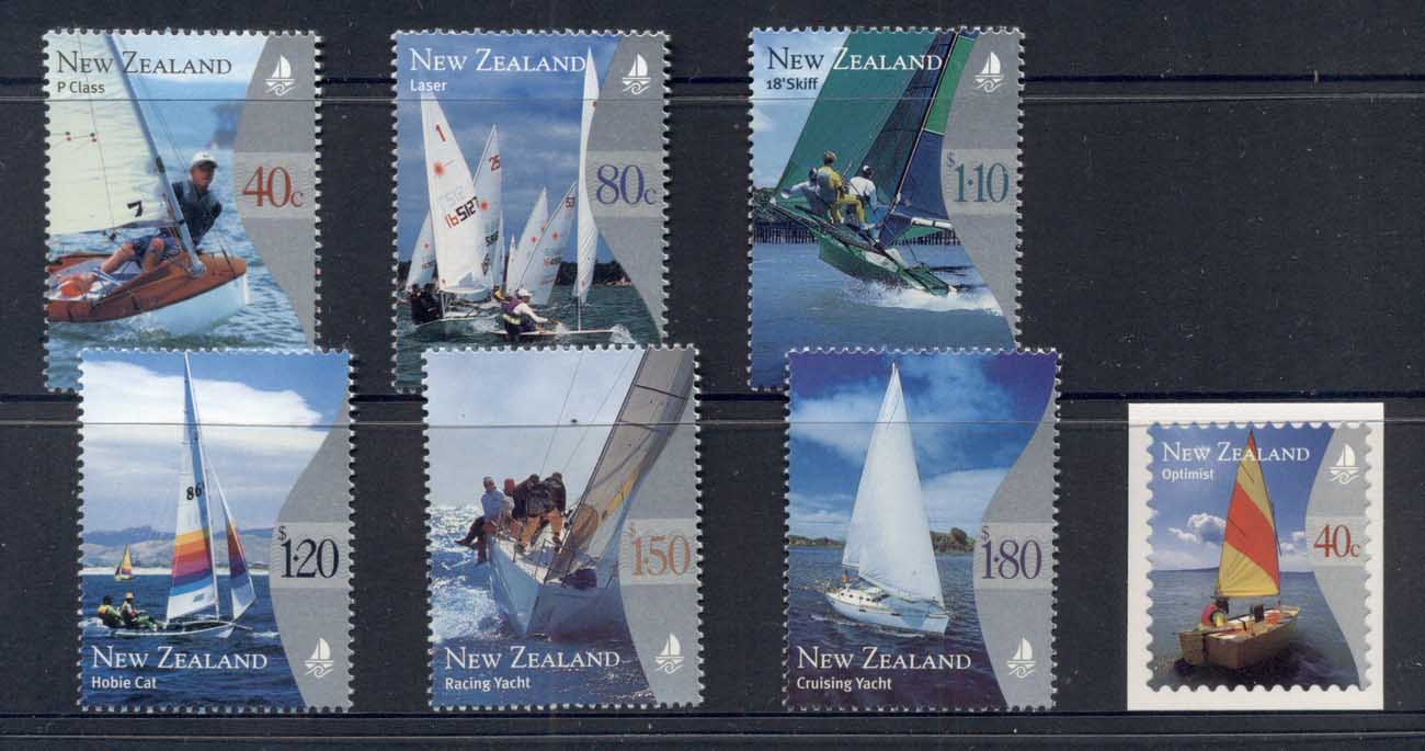New Zealand 1999 Yachting + P&S MUH