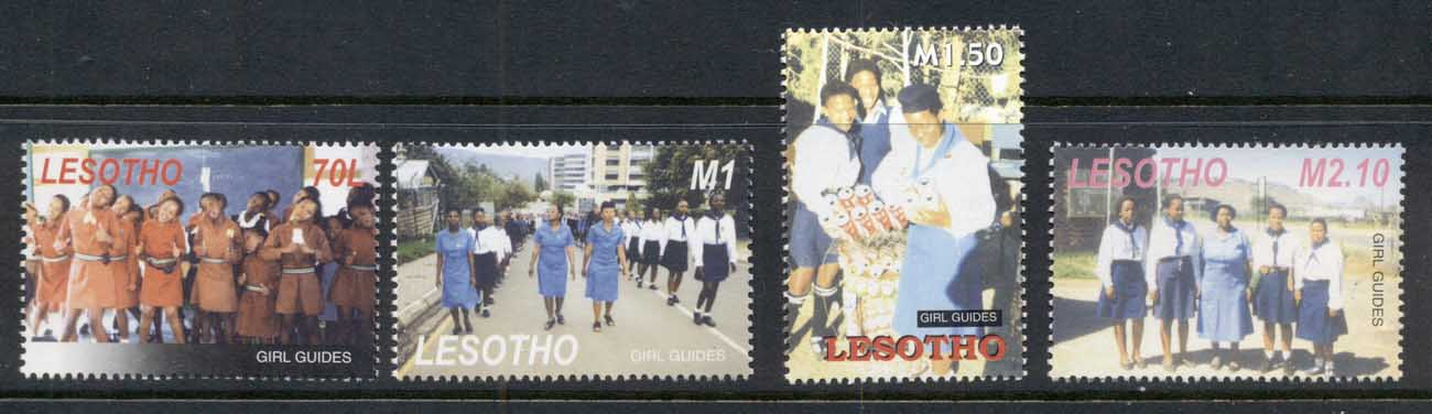 Lesotho 2005 Girl Guides MUH