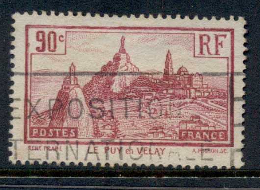 France 1933 Le Puy-en-Velay FU