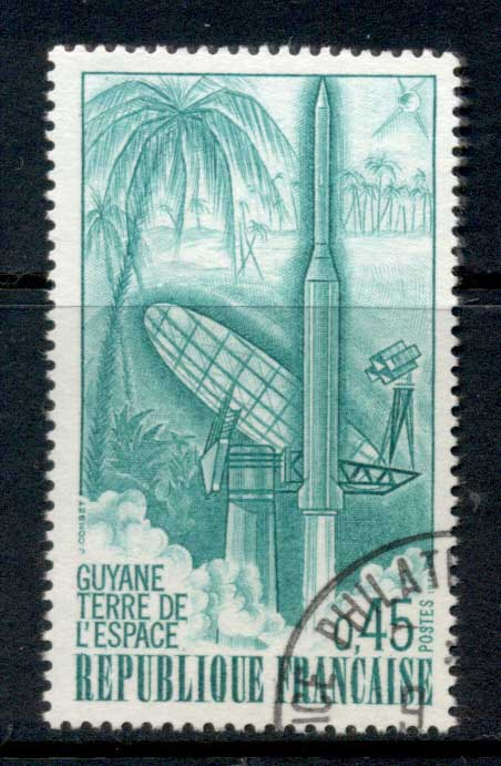 France 1970 Space Centre Guyana CTO