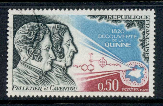 France 1970 Discovery of Quinine CTO