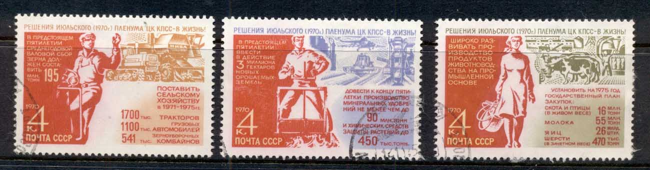 Russia 1970 Agricultural 5yr Paln Cto