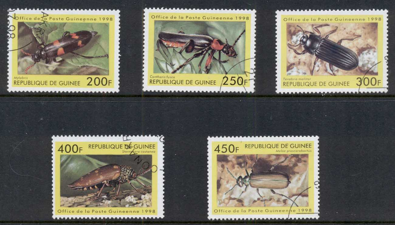 Guinee 1998 Insects Beetles CTO
